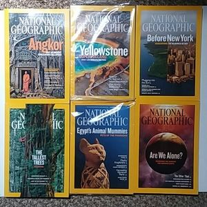 July-Dec 2009 National Geographic mags EUC